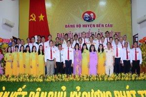 Bế mạc Đại hội Đại biểu huyện Bến Cầu lần thứ XII, nhiệm kỳ 2020-2025