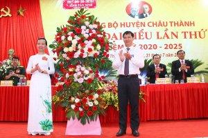 Khai mạc Đại hội Đại biểu Đảng bộ huyện Châu Thành, nhiệm kỳ 2020-2025