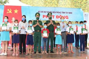 BĐBP Tây Ninh: Phát động tháng cao điểm tuyên truyền, vận động quần chúng khu vực biên giới phòng chống dịch Covid-19