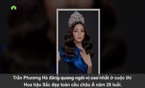 Hoa hậu Trần Phương Hà khoe vẻ quyến rũ tuổi 21, muốn dấn thân vào showbiz Việt
