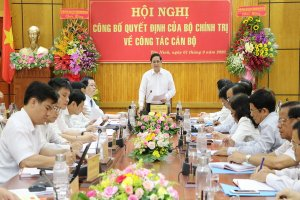 Trưởng Ban Tổ chức Trung ương làm việc với Ban Thường vụ Tỉnh uỷ Tây Ninh