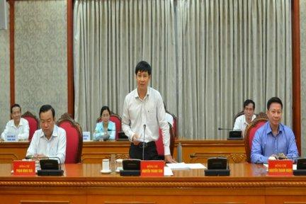 Bộ Chính trị cho ý kiến về dự thảo văn kiện và phương án nhân sự Đại hội Đảng bộ tỉnh Tây Ninh