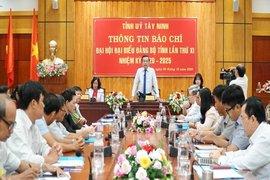Đại hội Đại biểu Đảng bộ tỉnh Tây Ninh lần thứ XI nhiệm kỳ 2020-2025 diễn ra từ ngày 14 -16.10