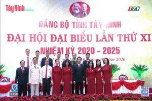 Truyền hình trực tiếp phiên bế mạc Đại hội Đại biểu Đảng bộ tỉnh Tây Ninh khóa XI, nhiệm kỳ 2020-2025