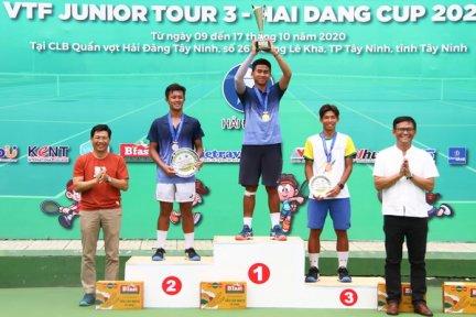 Bế mạc giải quần vợt VTF Junior Tour 3-Hai Dang Cup 2020