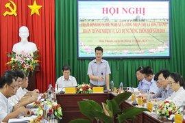 Thẩm định hồ sơ xét công nhận thị xã Hòa Thành đạt chuẩn nông thôn mới cấp huyện