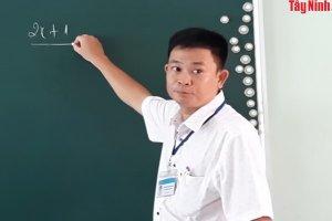 Người thầy giáo giàu lòng nhân ái
