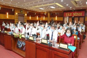 Trực tiếp kỳ họp lần thứ 19, HĐND tỉnh Tây Ninh khóa IX, nhiệm kỳ 2016-2021