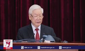Tổng Bí thư chủ trì Hội nghị lần thứ 14 BCH TW Đảng khóa XII