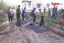 Xã Thạnh Đức hoàn thành 19 tiêu chí xây dựng xã nông thôn mới