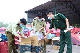 Tây Ninh: Tiêu hủy gần 950.000 bao thuốc lá ngoại nhập lậu