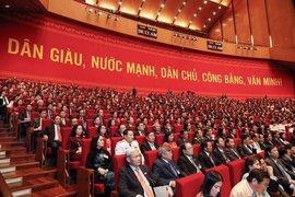 Đại hội thảo luận dự thảo Văn kiện trình Đại hội XIII của Đảng