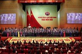 Ngày làm việc thứ 5 Đại hội bầu Ban Chấp hành Trung ương Đảng khoá XIII