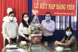 Phó Bí thư Thường trực Tỉnh uỷ Phạm Hùng Thái thăm, chúc tết Báo Tây Ninh