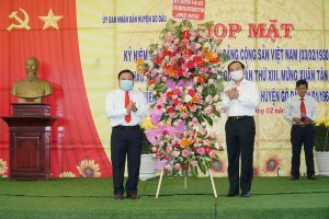 Họp mặt kỷ niệm 60 năm ngày thành lập Đại đội 33 huyện Gò Dầu
