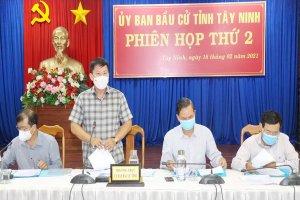 Tây Ninh bầu 52 đại biểu HĐND tỉnh, nhiệm kỳ 2021-2026