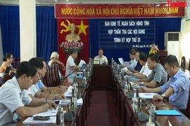 Ban Kinh tế-Ngân sách HĐND tỉnh: Thẩm tra dự thảo Nghị quyết trình kỳ họp thứ 20