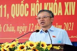 Đại biểu Quốc hội Nguyễn Mạnh Tiến tiếp xúc cử tri trước kỳ họp thứ 11 Quốc hội Khóa XIV