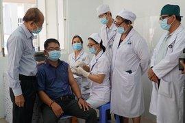 Những mũi tiêm vaccine Covid-19 đầu tiên tại Tây Ninh