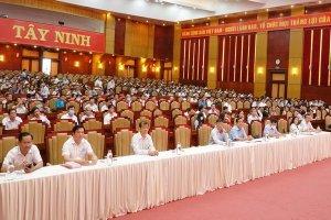 Tây Ninh: Hơn 8.600 đảng viên tham dự Hội nghị toàn quốc nghiên cứu, học tập, quán triệt, tuyên truyền Nghị quyết Đại hội XIII của Đảng
