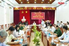 Tỉnh uỷ Tây Ninh: Tổ chức Hội nghị giao ban công tác quý I năm 2021
