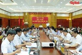 """Quý I.2021, Tây Ninh tiếp tục thực hiện có hiệu quả """"mục tiêu kép"""""""