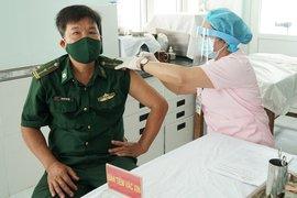 Tây Ninh: Tiêm vaccine phòng Covid-19 cho chiến sĩ biên phòng