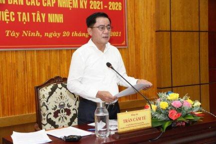 Hội đồng bầu cử quốc gia kiểm tra công tác bầu cử tại tỉnh Tây Ninh