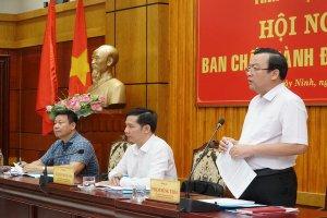 Tăng cường xây dựng, chỉnh đốn Đảng gắn với đẩy mạnh học tập và làm theo tư tưởng, đạo đức, phong cách Hồ Chí Minh