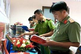 Công an Tây Ninh: Tổ chức hoạt động ngày hội đọc sách