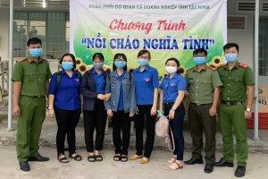 Tuổi trẻ Công an thành phố Tây Ninh  phát huy sức trẻ nêu cao tinh thần vì nhân dân phục vụ