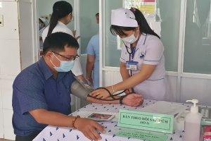 Tây Ninh: Triển khai tiêm vắc xin phòng COVID-19 đợt 2 cho gần 15.000 người