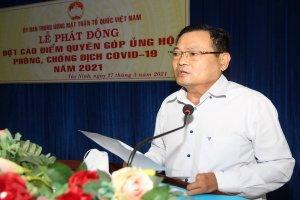 Uỷ ban MTTQVN tỉnh Tây Ninh kêu gọi các cơ quan, doanh nghiệp, mạnh thường quân ủng hộ kinh phí phòng, chống dịch bệnh Covid-19