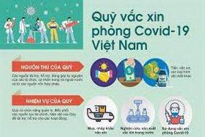 Trực tiếp: Lễ ra mắt Quỹ vắc xin phòng COVID-19