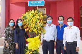 Lãnh đạo Vietel  và VNPT Tây Ninh: Thăm, chúc mừng Báo Tây Ninh nhân ngày 21.6