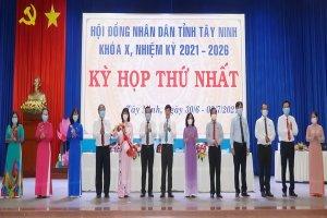 Khai mạc Kỳ họp thứ nhất HĐND tỉnh Tây Ninh khóa X, nhiệm kỳ 2021-2026