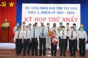 Ông Nguyễn Thanh Ngọc tái đắc cử chức danh Chủ tịch UBND tỉnh Tây Ninh