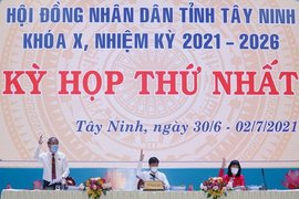 Bài phát biểu của đồng chí Bí thư Tỉnh ủy, Chủ tịch  HĐND tỉnh tại Kỳ họp thứ nhất HĐND tỉnh khóa X, nhiệm kỳ 2021 – 2026