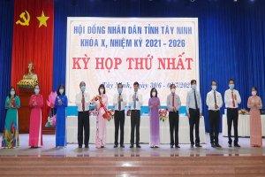 Khai mạc Kỳ họp thứ Nhất, Hội đồng nhân dân tỉnh Tây Ninh khóa X, nhiệm kỳ 2021-2026