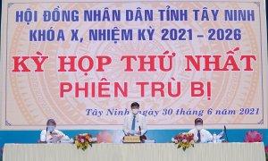 [Trực tiếp] Kỳ họp Thứ nhất HĐND tỉnh Tây Ninh khóa X, nhiệm kỳ 2021-2026