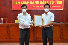Ông Nguyễn Mạnh Hùng giữ chức Phó Bí thư Tỉnh uỷ Tây Ninh, nhiệm kỳ 2020-2025