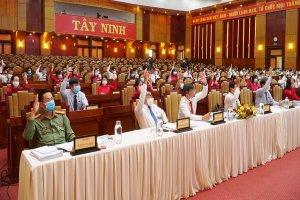 Kỳ họp lần thứ nhất HĐND tỉnh Tây Ninh, khóa X, nhiệm kỳ 2021-2026