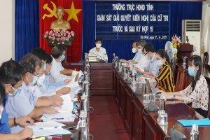 Phần lớn các ý kiến, kiến nghị của cử tri đã được UBND tỉnh Tây Ninh trả lời làm rõ, tập trung chỉ đạo giải quyết