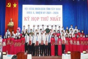 Bế mạc kỳ họp thứ nhất, HĐND tỉnh Tây Ninh, khoá X, nhiệm kỳ 2021-2026