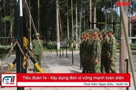 Tiểu đoàn 14-Xây dựng đơn vị vững mạnh toàn diện