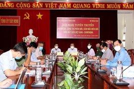 Kết quả phân giới, cắm mốc Việt Nam–Campuchia đạt khoảng 84%