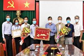 Hội Doanh nhân trẻ Việt Nam-Tập đoàn TTC: Tặng máy xét nghiệm virus SARS-CoV-2 cho Tây Ninh