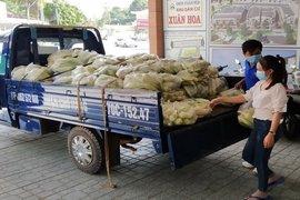 Đoàn Thanh niên phường Ninh Thạnh hỗ trợ nông dân tiêu thụ nông sản
