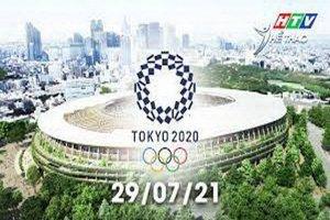 Olympic Tokyo 2020-Các môn thi đấu sáng 29.7.2021