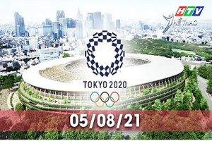 Olympic Tokyo 2020-Các môn thi đấu sáng 05.8.2021